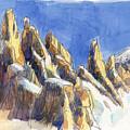 Cerro Torre, Patagonia by Judith Kunzle