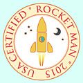 Certified Rocket Man by Gaspar Avila
