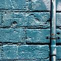 cerulean wall II by Kreddible Trout