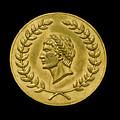 Julius Cesar Roman Coin by Gary Warnimont