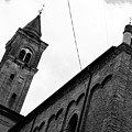 Cesena - The Cathedral In Bw by Andrea Mazzocchetti