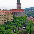 Cesky Krumlov Castle Complex In The Czech Republic by Richard Rosenshein