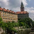 Cesky Krumlov Castle by Sherri Fink