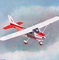Cessna 172 by Douglas Castleman
