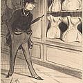 C'est Unique! J'ai Pris Quatre Tailles... by Honor? Daumier