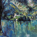 Cezanne: Annecy Lake, 1896 by Granger