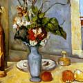 Cezanne: Blue Vase, 1885-87 by Granger