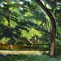 Cezanne: Etang, 1877 by Granger
