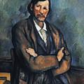 Cezanne: Man, C1899 by Granger