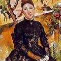 Cezanne: Mme Cezanne, 1890 by Granger
