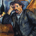 Cezanne: Pipe Smoker, 1900 by Granger