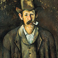 Cezanne: Pipe Smoker, C1892 by Granger