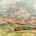 Cezanne: St. Victoire, 1897 by Granger
