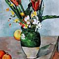 Cezanne: Tulips, 1890-92 by Granger