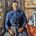Cezanne: Woman, 1890-95 by Granger