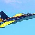 Cf-18 Hornet by Mark Andrew Thomas