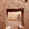 Chaco Canyon Doorways 2 by Carl Amoth