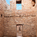 Chaco Canyon Doorways 4 by Carl Amoth