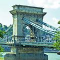 Chain Bridge Budapest by Edita De Lima