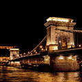 Chain Bridge - Budapest by Robert J Bourke