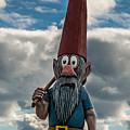Chainsaw Art Gnome by Paul Freidlund
