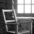 Chair By Window - Ireland by Mike McGlothlen