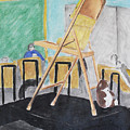 Chair Life Study by M Valeriano