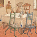 Chair Race by Kestutis Kasparavicius