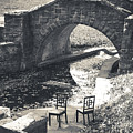 Chairs - Stone Bridge by Colleen Kammerer