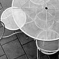 Chairs With Table by Andre Beriault