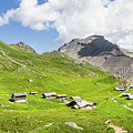 Chalets De Clapeyto # II - French Alps by Paul MAURICE