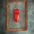 Chalkboard Toy Car by Edward Fielding