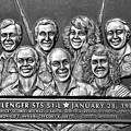 Challenger Crew by David Lee Thompson