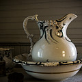 Chamber Pitcher With Basin 3 by Karen Hanley Colbert