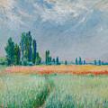 Champ De Ble by Claude Monet