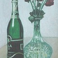 Champagne And Roses by Usha Shantharam