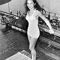 Champion Diver Vicki Draves by Underwood Archives