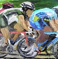 Champions Peddling To Victory by Michael Lee