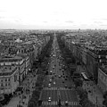 Champs Elysees In Paris by Maria Pogoda