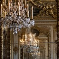 Chandelier At Versailles by Georgia Fowler