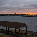 Chandler Hovey Park Sunset Marblehead Ma by Toby McGuire