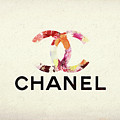Chanel Floral Texture  by Dan Sproul