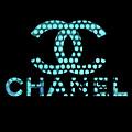 Chanel Light Blue Points by Del Art