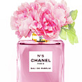 Chanel N5 Pink With Flowers by Green Palace