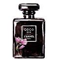 Chanel Noir Magnolia Pink by Del Art