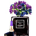 Chanel Noir Perfume Bottle by Del Art