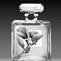 Chanel Perfume Black Flower by Del Art