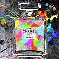 Chanel Rainbow Colors by Daniel Janda
