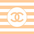 Chanel - Stripe Pattern - Beige - Fashion And Lifestyle by TUSCAN Afternoon