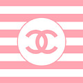Chanel - Stripe Pattern - Pink - Fashion And Lifestyle by TUSCAN Afternoon